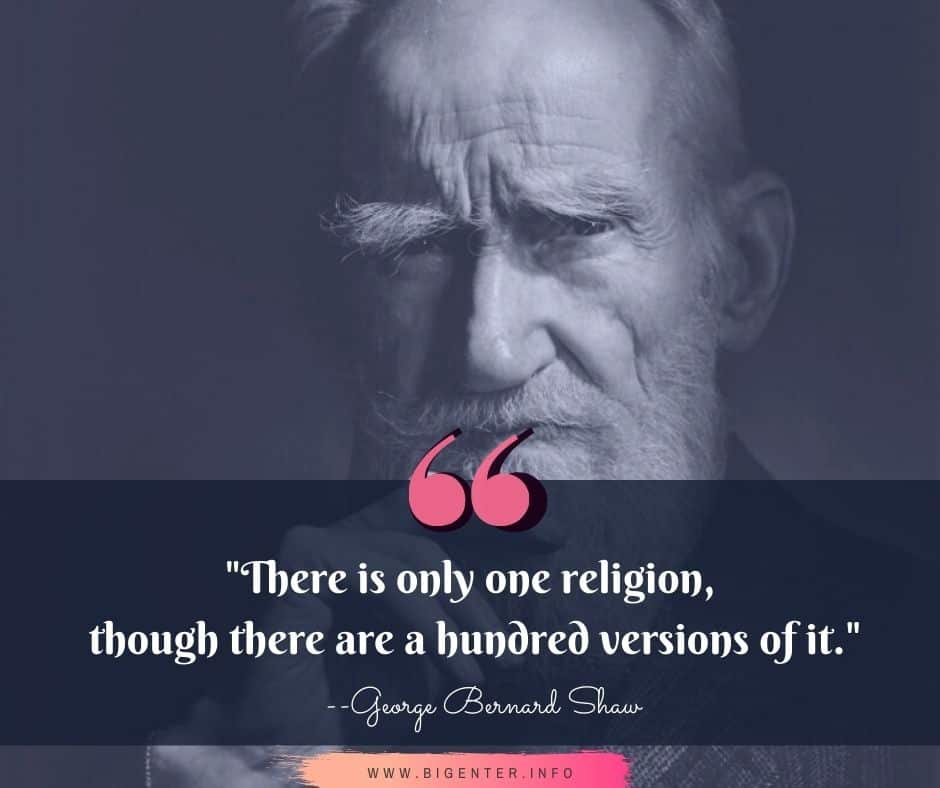GB Shaw Quotes