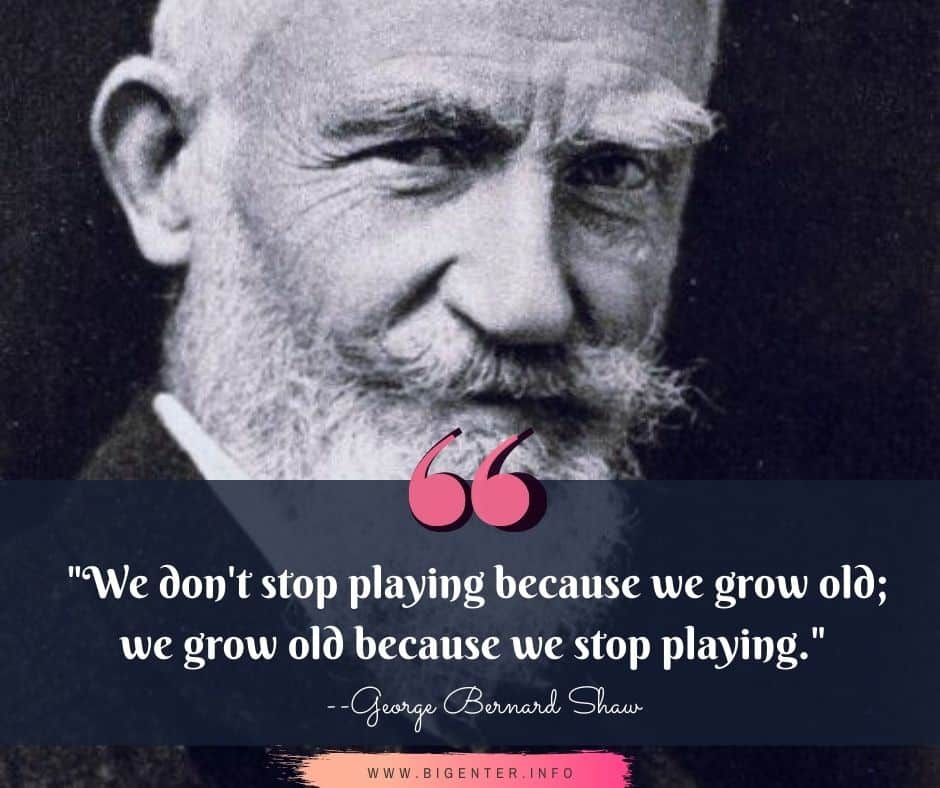 GB Shaw Quotes About Life