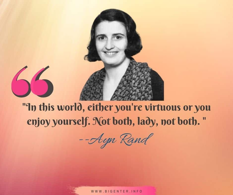 Ayn Rand Quotes on Woman