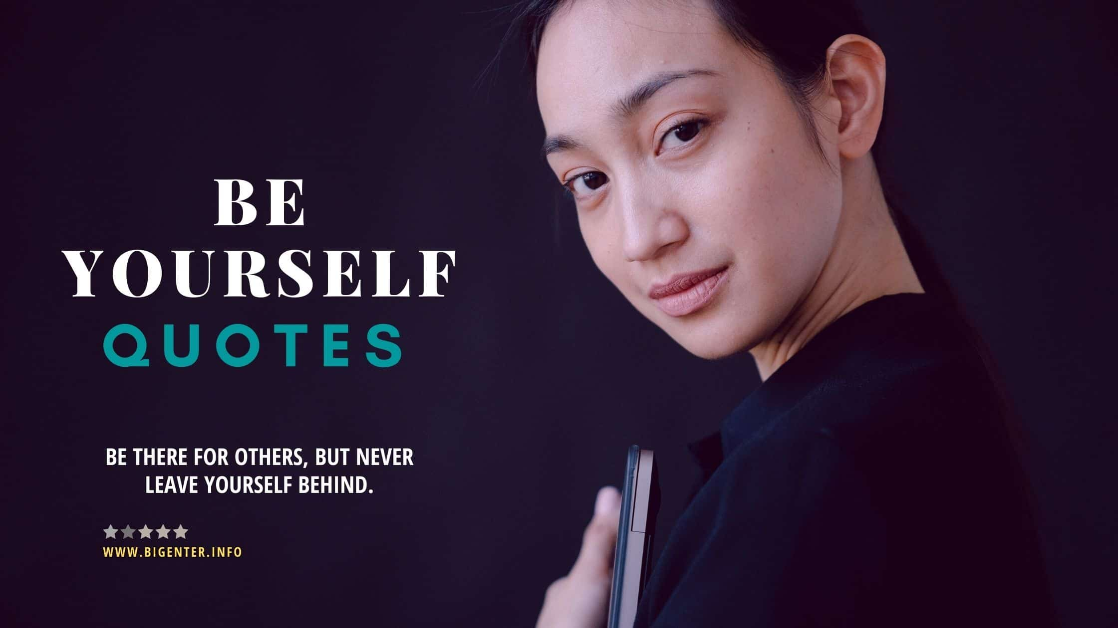 Quotes On Be Yourself