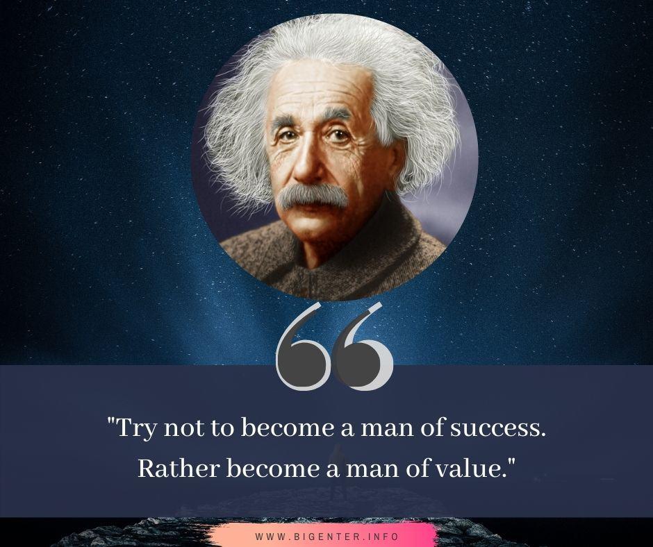 Quotes by Albert Einstein on Success