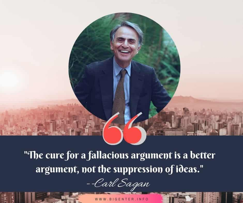 Famous Quotes by Carl Sagan