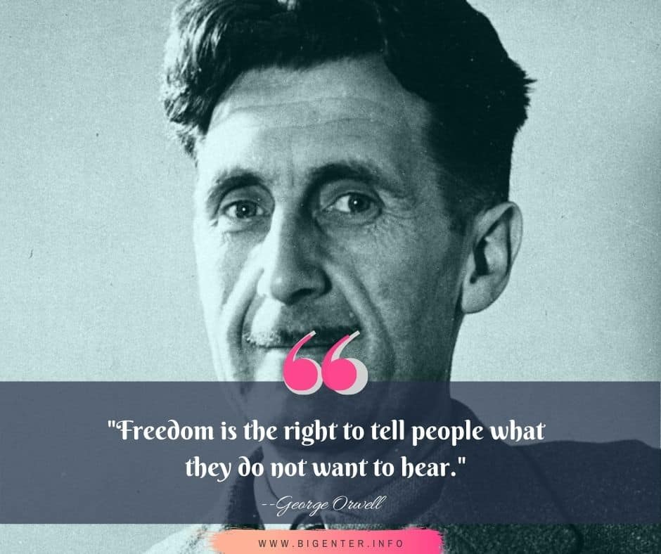George Orwell Quotes on Power