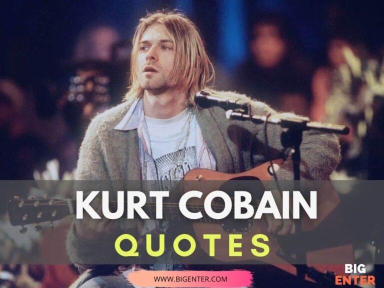 Quotes by Kurt Cobain