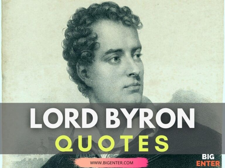 Quotes by Lord Byron
