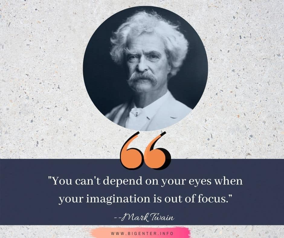 Quotes by Mark Twain About Success