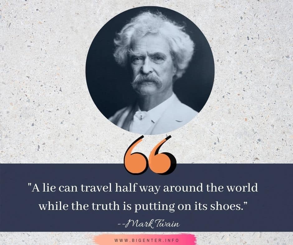 Quotes by Mark Twain About Life