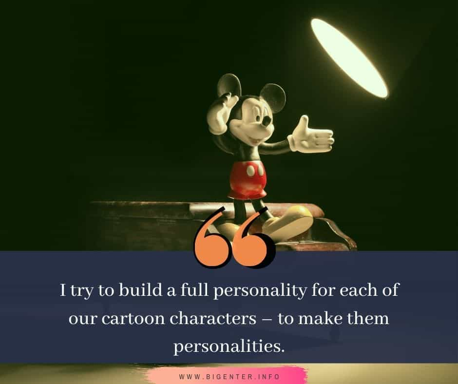 Quotes From Walt Disney Animation