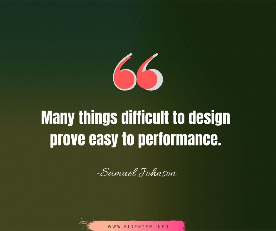 Quotes on Design