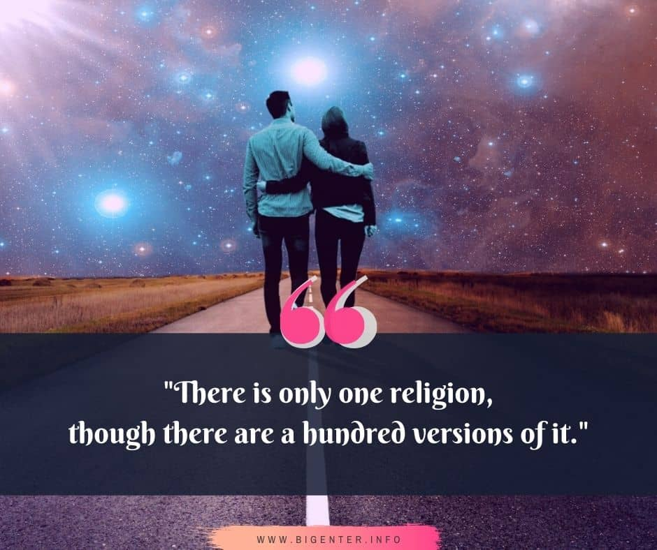 Quotes about Faith and Religion