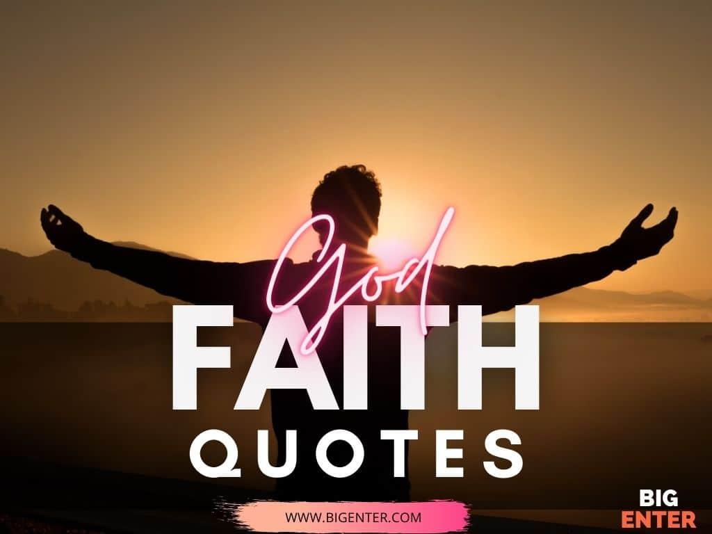 Quotes on Faith on God