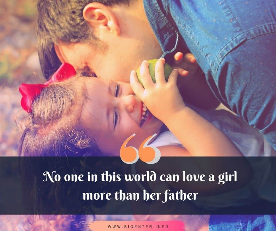 Quotes on Father Daughter Love