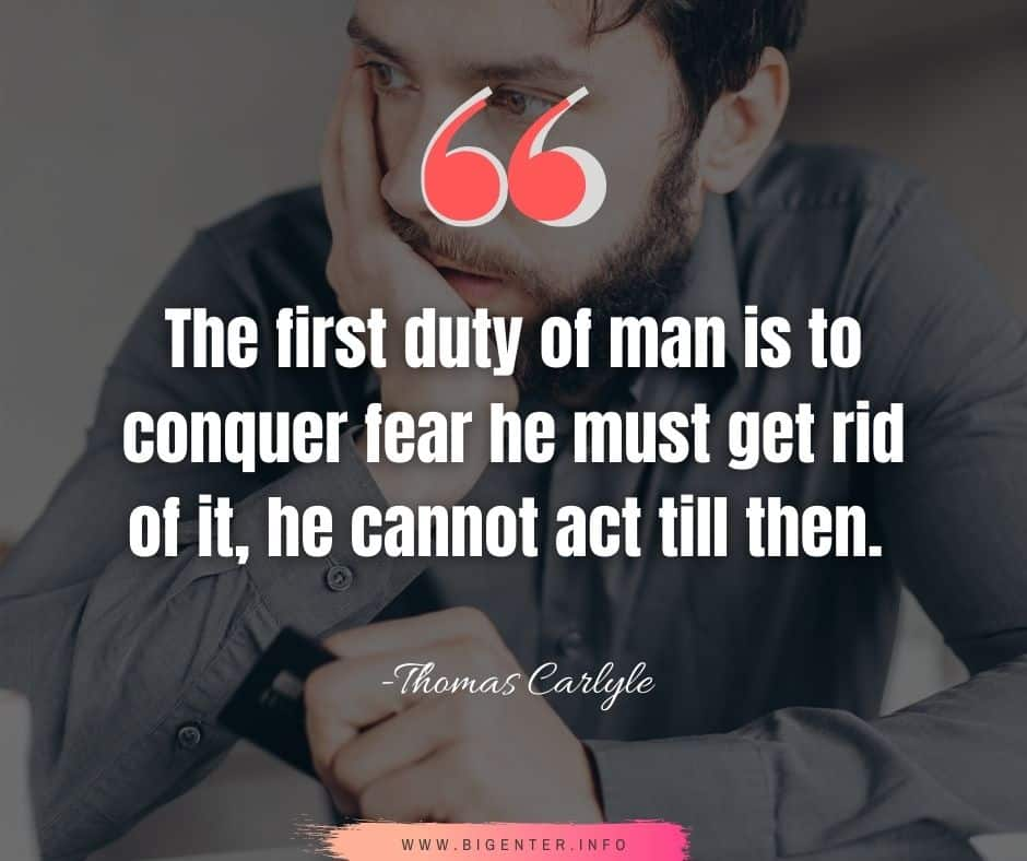 Facing Fear Quotes