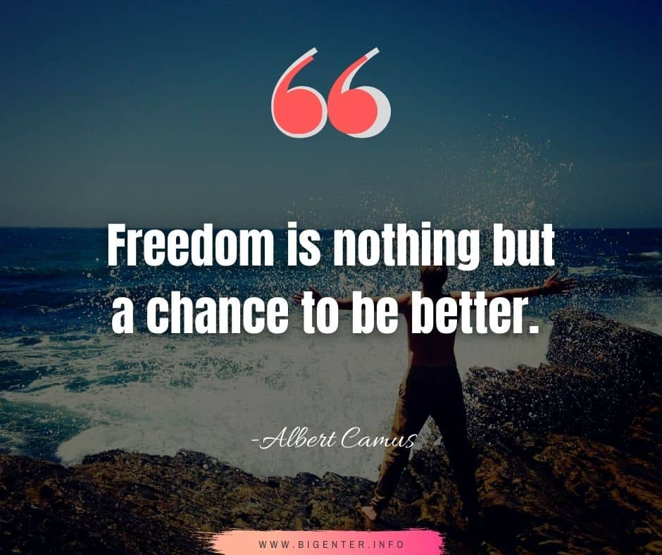 Quotes on Freedom