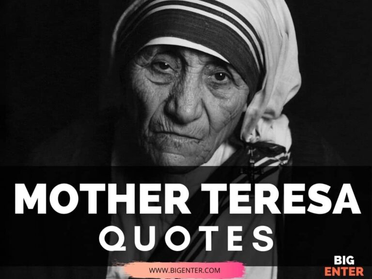 Quotes on Love By Mother Teresa