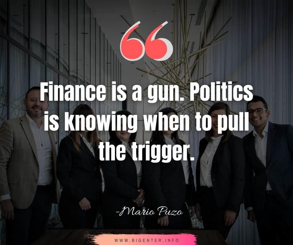 Quotes on Finance and Economics