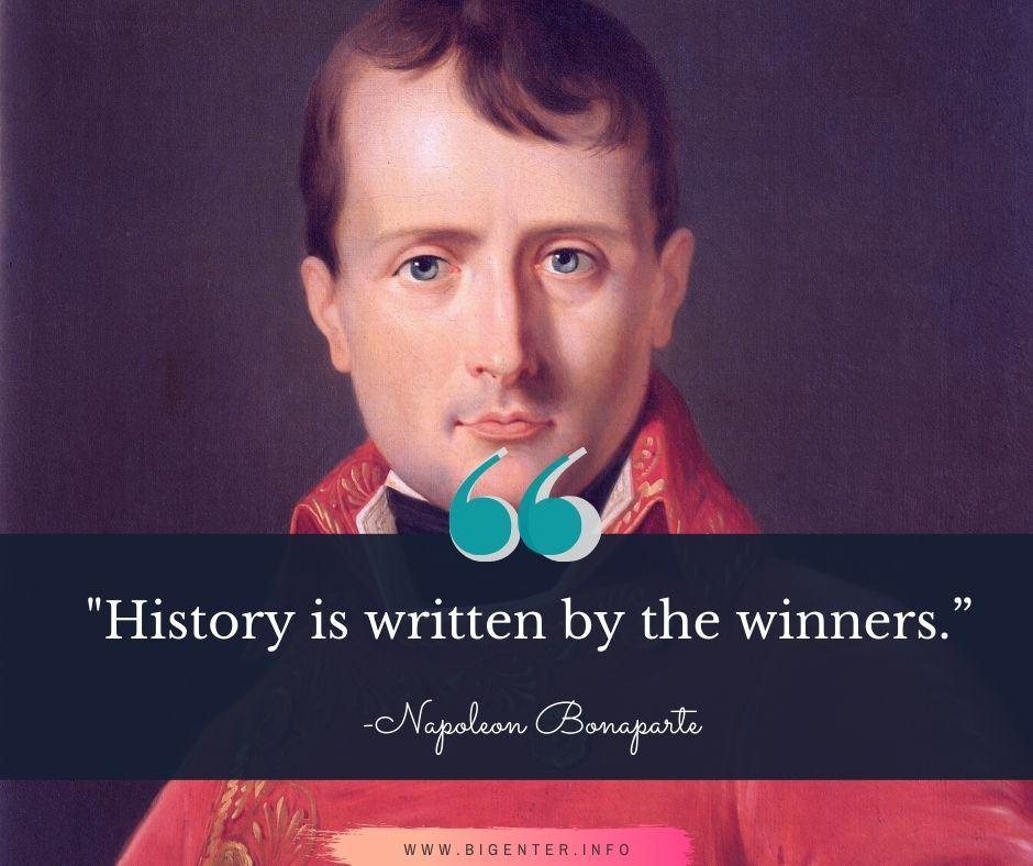 Quotes By Napoleon Bonaparte