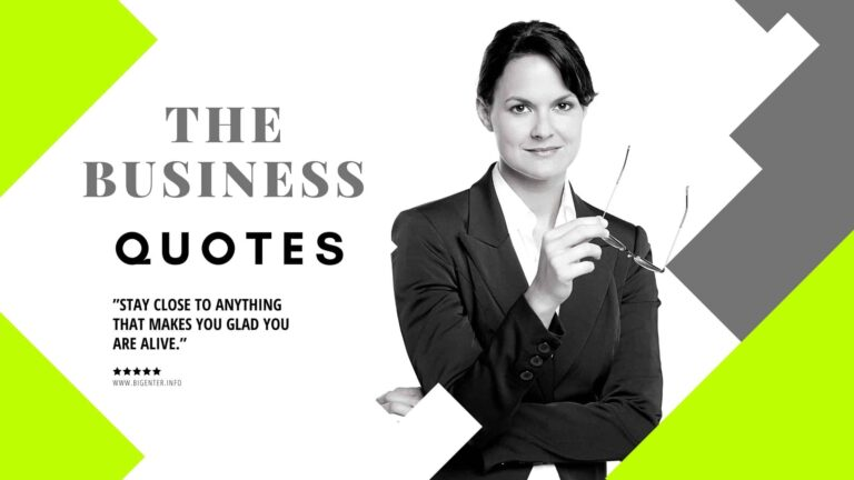 the business quotes