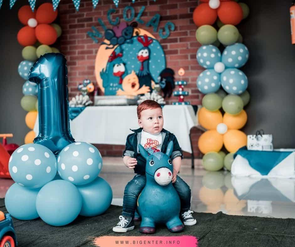 Happy Birthday to Baby Boy