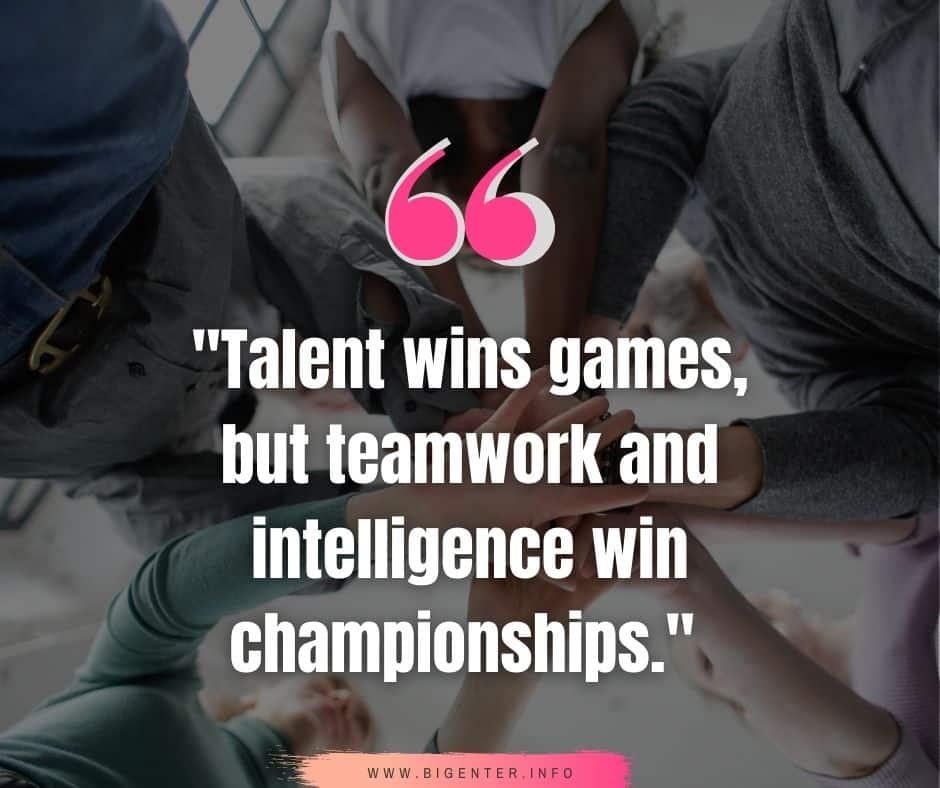 Teamwork Quotes Motivational