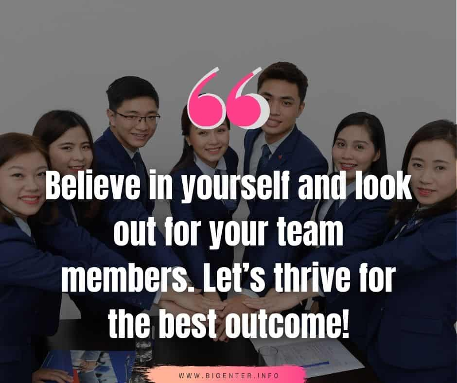 Unity and  Teamwork Quotes