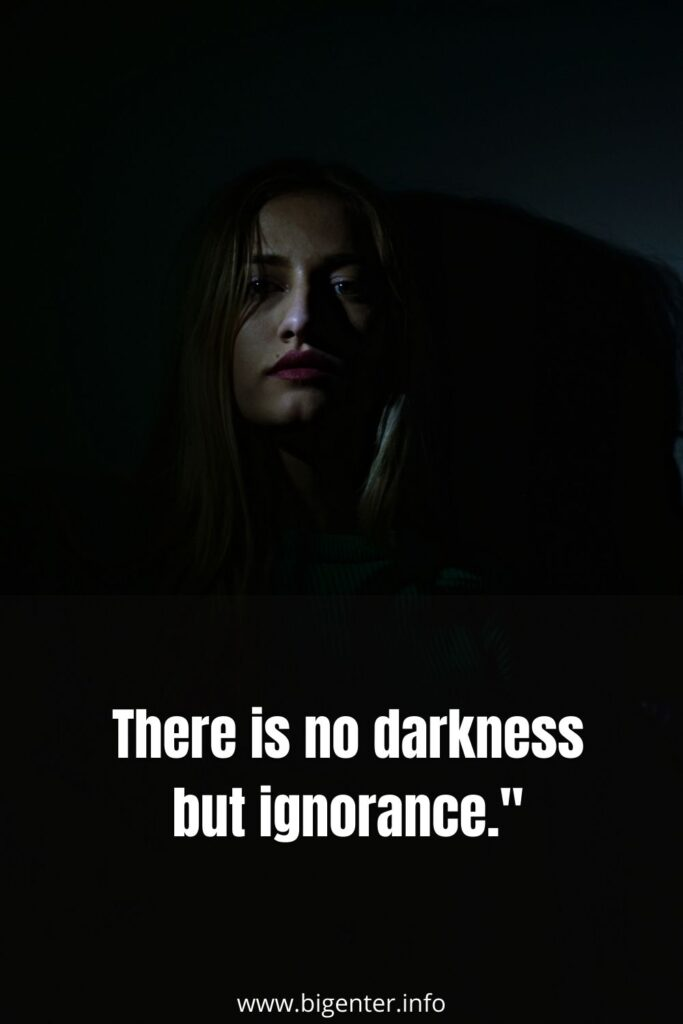 Deep Dark Quotes About Life