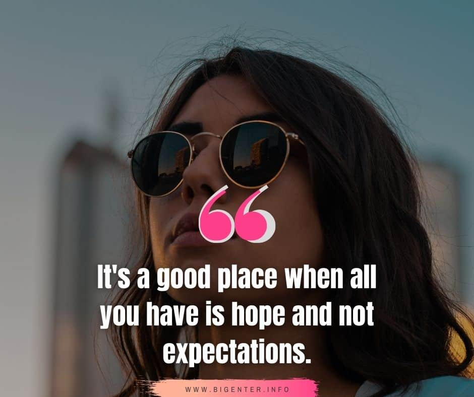Expectation Quotes in Life