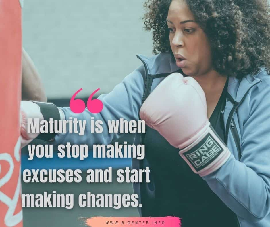 Maturity  and Responsibility