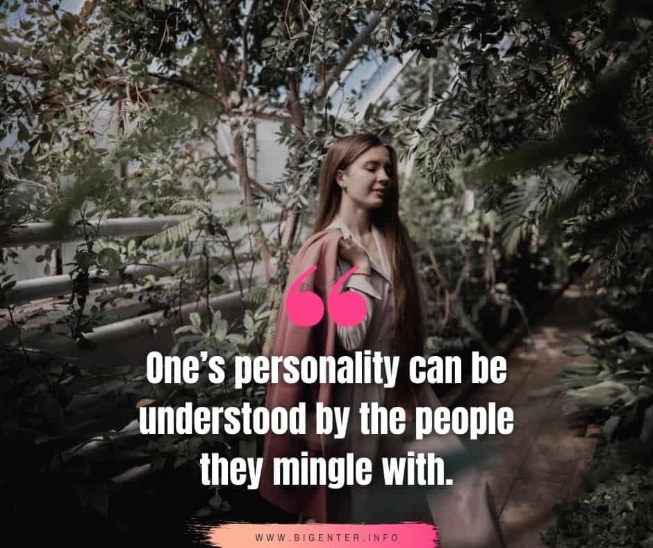 Happy Personality Quotes