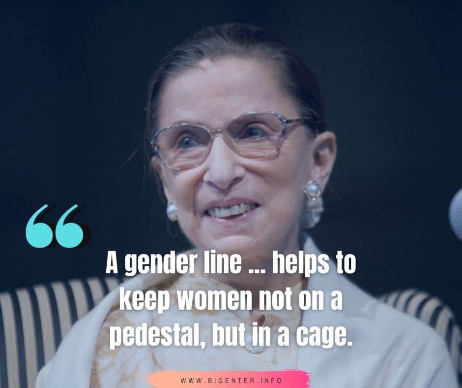 RBG Quotes Feminism