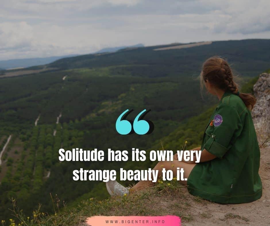 Solitude Quotes Instagram