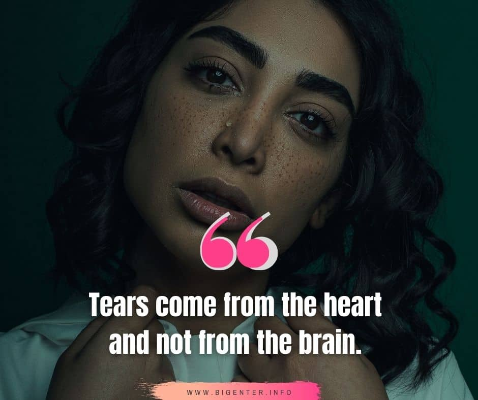 Tears Quotes Love