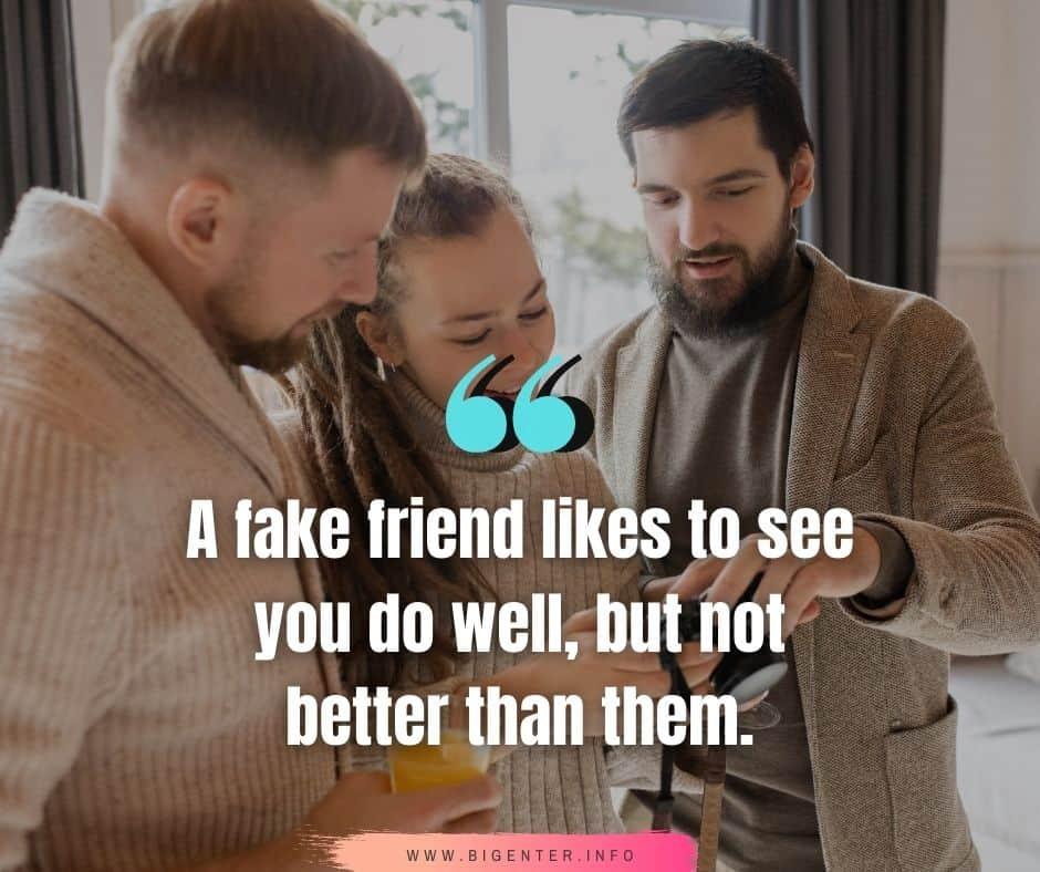 Friends Bad Behavior Quotes