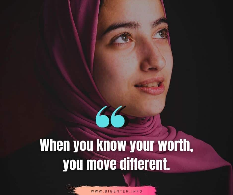 Know Your Worth Quotes in Life