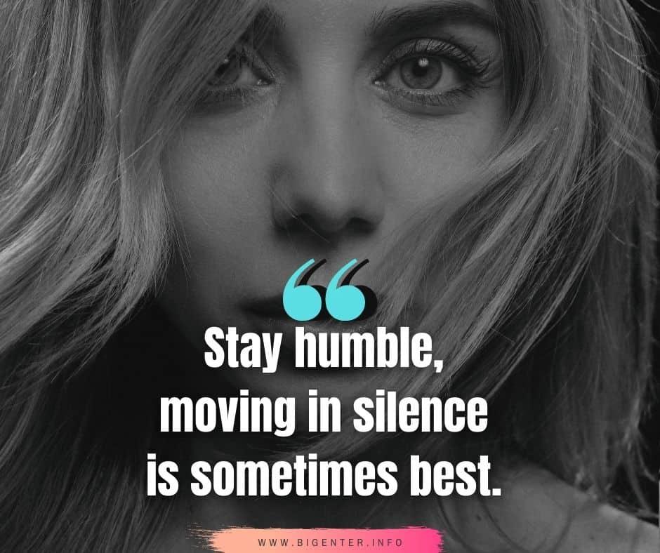 Deep Silence Quotes