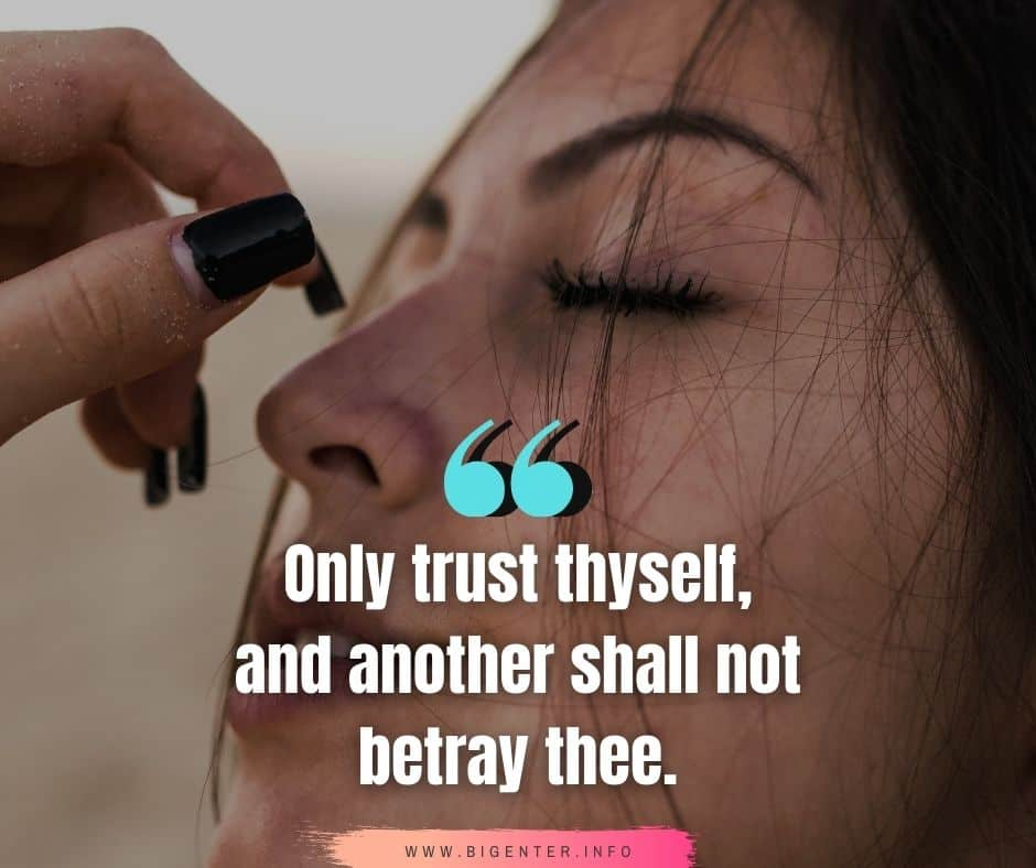 Trust No One Quotes For WhatsApp Status