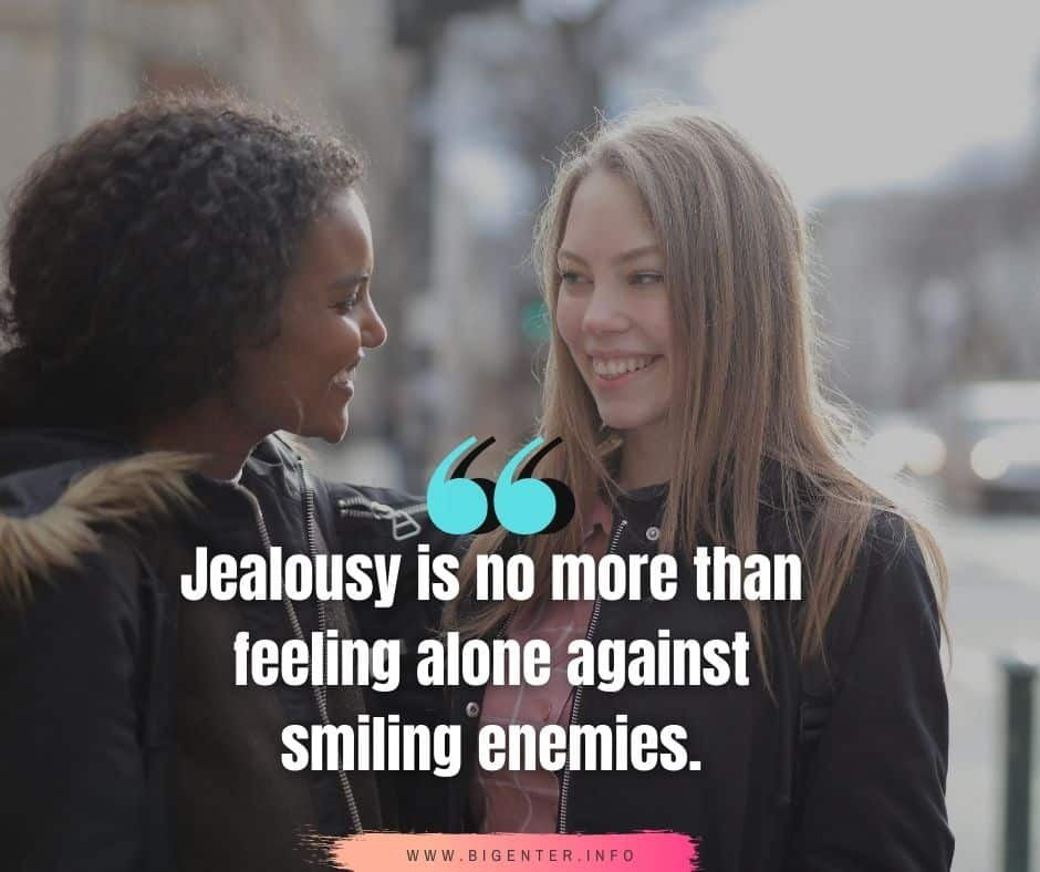 Jealousy Quotes and Sayings